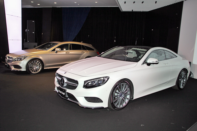 The S-Class Coupe & The New CLS-Class プレス発表会[2014年10月10日(金)/会場:Mercedes-Benz Connection(東京都港区)]