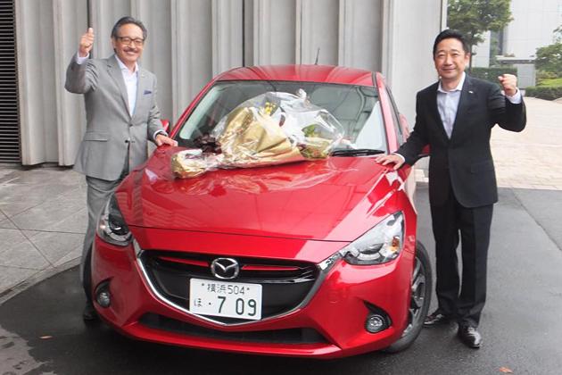 2014-2015 日本 カー・オブ・ザ・イヤーを受賞した「マツダ デミオ」
