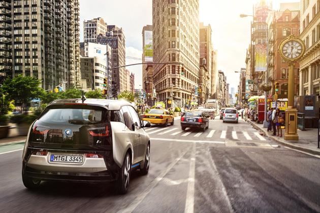 BMW i3/走行イメージ