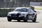 アウディ、RS7 自動運転コンセプトが無人でレーストラックを走行