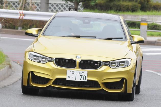 BMW 新型 M4クーペ[ボディカラー:オースチン・イエロー] 試乗レポート/国沢光宏