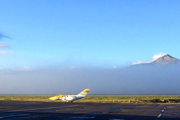 コロラド州での飛行試験の様子