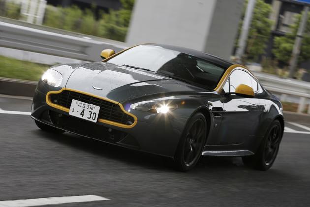 アストンマーティン V8ヴァンテージN430・DB9カーボンブラック 試乗レポート/石川真禧照