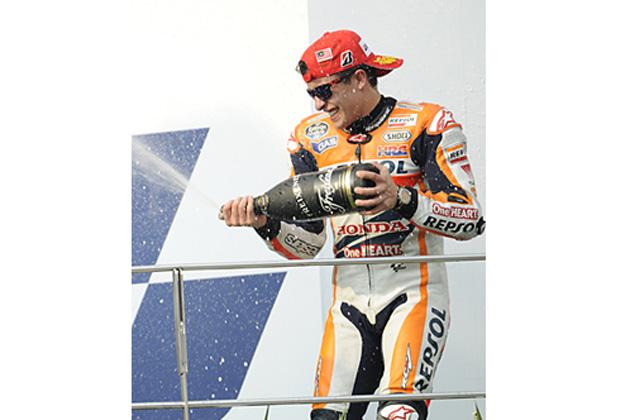 今季12勝目を挙げた、マルク・マルケス/MotoGP 第17戦 マレーシアGP