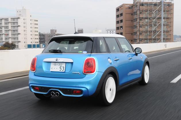 新型MINI「ミニ クーパーS 5ドア」試乗レポート/国沢光宏