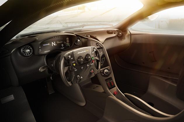 McLaren P1/インテリア