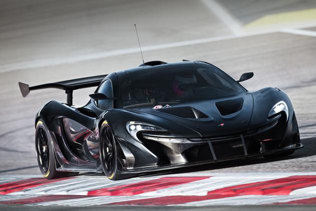 McLaren P1/開発テストの様子