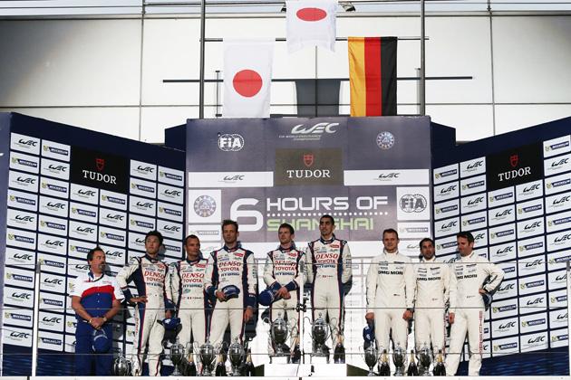 トヨタ・レーシング/FIA世界耐久選手間(WEC)第6戦・上海6時間レース