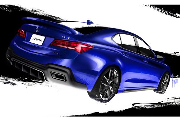 ホンダ Galpin Auto Sports Acura TLX(ガルピン オート スポーツ アキュラ TLX)