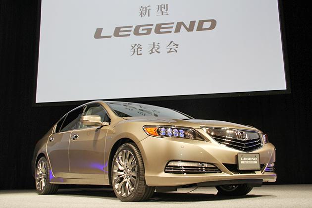 ホンダ 新型レジェンド 発表会速報 ~世界初の運転支援技術「Honda SENSING」を新たに搭載~