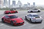 ポルシェ、『911カレラGTS』をはじめとする3つのニューモデルをロサンゼルスショーで世界初公開
