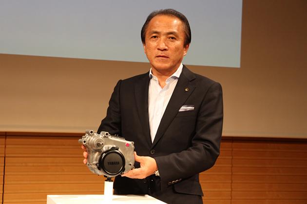 ヤマハ発動機株式会社 代表取締役社長 柳 弘之氏