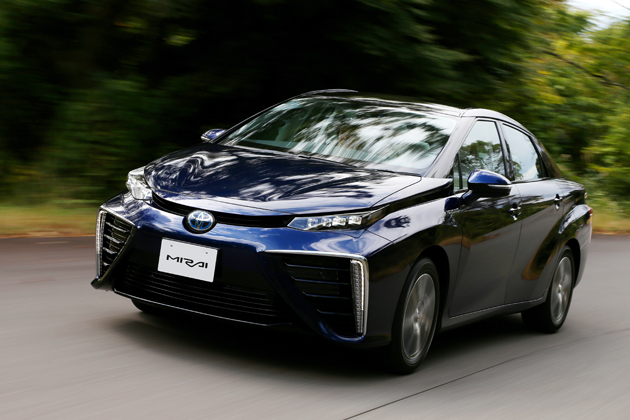 トヨタ 燃料電池自動車(FCV)「MIRAI(ミライ)」 試乗レポート/渡辺陽一郎
