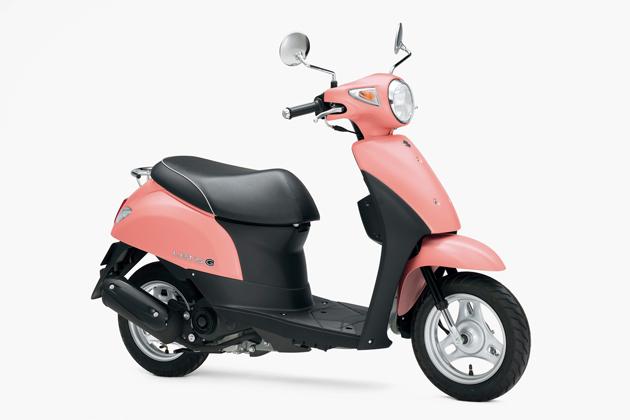 スズキ 50ccスクーター「レッツG」