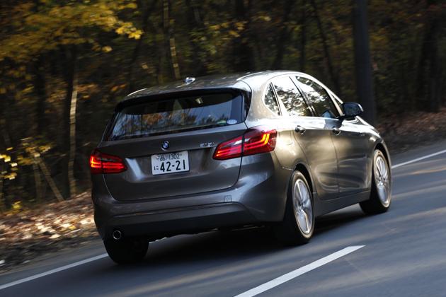 BMW2シリーズアクティブツアラー試乗レポート/五味康隆