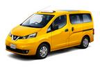 日産、アメリカでイエローキャブとして活躍中の「NV200タクシー」を2015年6月下旬に国内発売