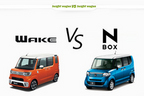 【比較】ダイハツ ウェイク vs ホンダ N-BOX どっちが買い!?徹底比較/渡辺陽一郎
