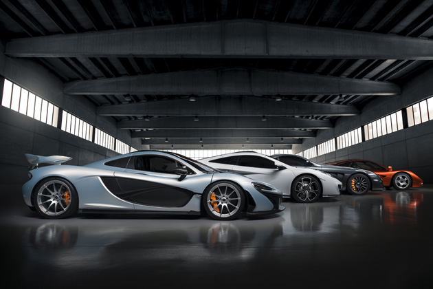 最新のマクラーレンモデルに対応したシリーズオプション