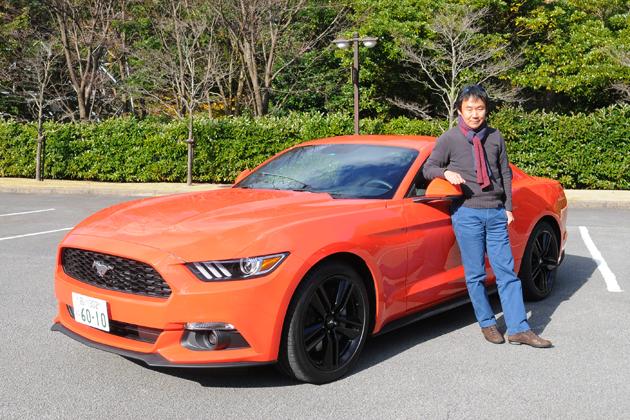 フォード 新型 マスタング「50 YEARS EDITION」[EcoBoost 2.3ターボ/限定350台/左ハンドル/ボディカラー:コンペティションオレンジ] 試乗レポート/森口将之