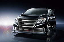 ELGRAND Rider HIGH PERFORMANCE SPEC Black Line/「オートサロン2015」日産ブース展示車両