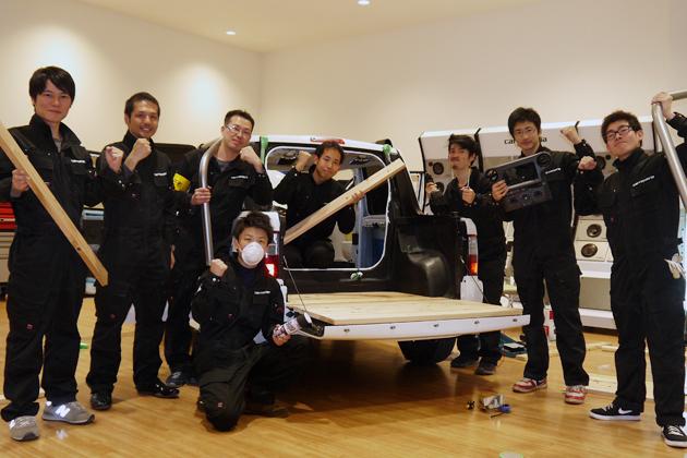 カロッツェリアと学生カーソムリエがコラボ!?コンセプトカー計画進行中!【東京オートサロン2015】