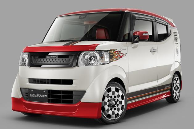 ホンダ 新型「N-BOX SLASH」無限パーツ装着車
