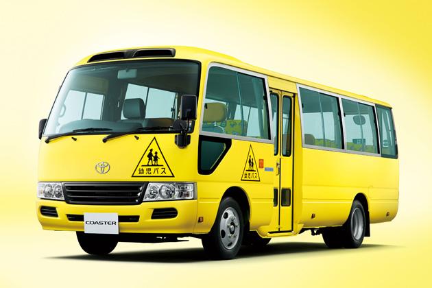 トヨタ コースター 幼児専用車(ロングボディ・標準ルーフ・6AT)(イエロー)<オプション装着車>