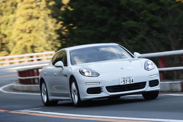 ポルシェ パナメーラS「E-Hybrid」(プラグイン ハイブリッド) 試乗レポート/金子浩久