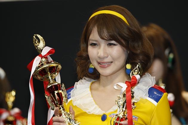 第2回(2011年):立花サキ(UPGARAGEドリフトエンジェルス、レーシングミクサポーターズ)/日本レースクイーン大賞 歴代受賞者