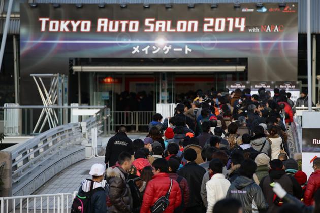 ※写真は東京オートサロン2014の様子