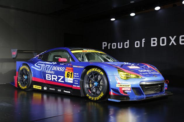 スーパーGT GT300参戦車両/スバルブース【東京オートサロン2015】