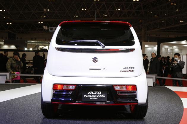 新型アルト ターボRS コンセプト (参考出品車)/スズキブース【東京オートサロン2015】