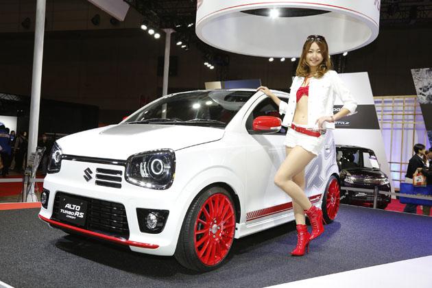 【速報!】スズキ、新型「アルト ターボRS コンセプト」【東京オートサロン2015】