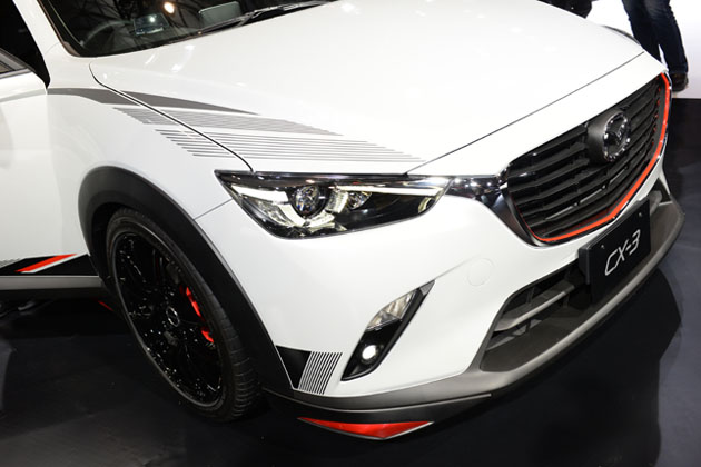 新型「CX-3」/マツダブース【東京オートサロン2015】