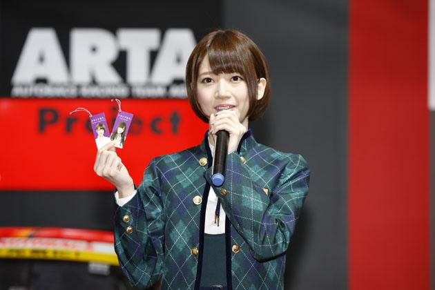 乃木坂46の橋本奈々未さん/オートバックスブース【東京オートサロン2015】