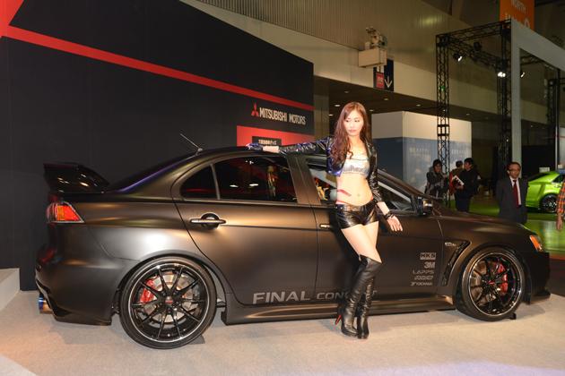 三菱「ランサーエボリューションX Final Concept」/三菱ブース【東京オートサロン2015】