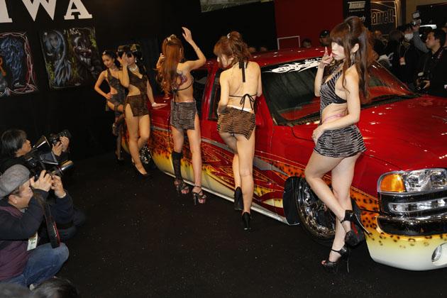 AIWAブース【東京オートサロン2015】