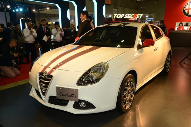 Alfa Romeo Giulietta Ken Okuyama Speciale Bianca/アルファロメオ×ケンオクヤマ【東京オートサロン2015】