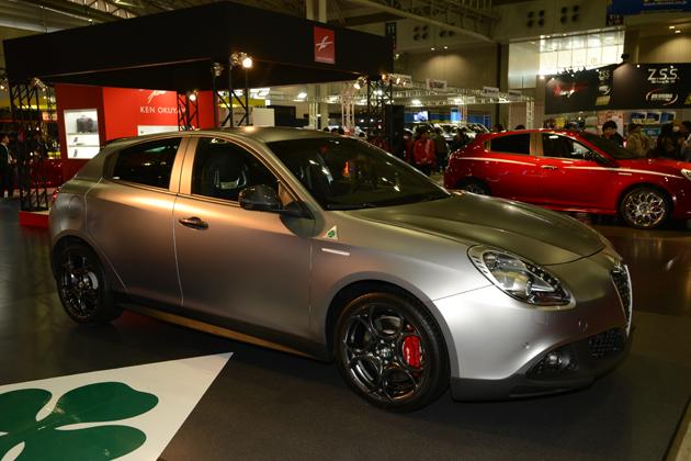 Alfa Romeo Giulietta Quadrifoglio Verde Launch Edition/アルファロメオ×ケンオクヤマ【東京オートサロン2015】