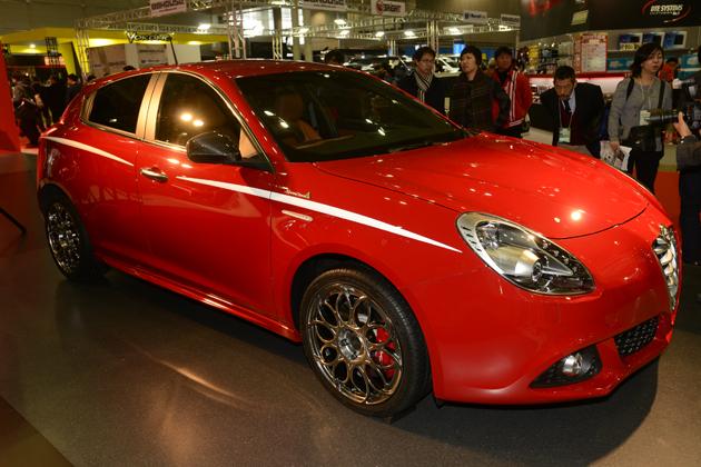 Alfa Romeo Giulietta Ken Okuyama Speciale Rossa/アルファロメオ×ケンオクヤマ【東京オートサロン2015】