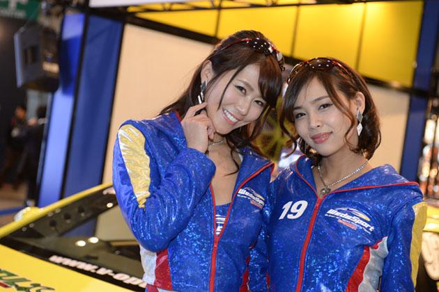 佐野真彩さん 愛内ゆかりさん・WedsSport Racing Gals/【東京オートサロン2015】