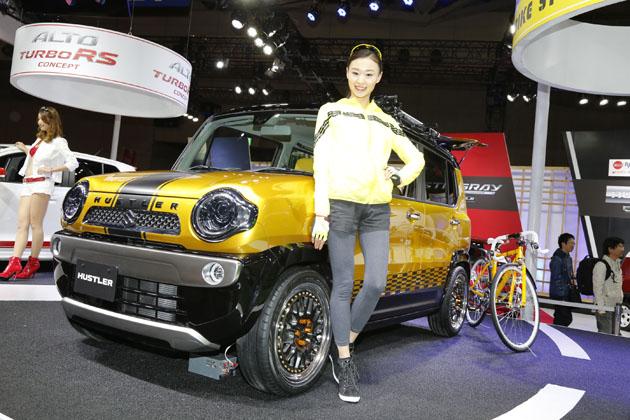 スズキ ハスラー ロードバイクスタイル (参考出品車)