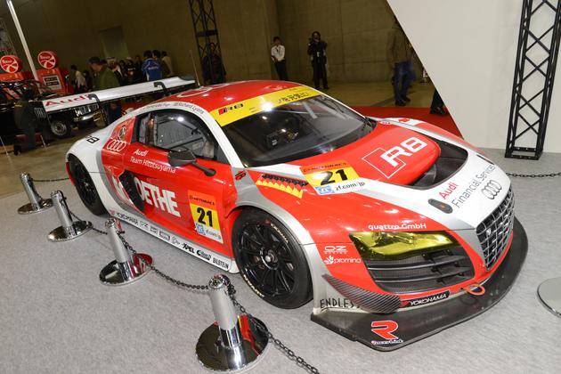 2014年仕様 アウディ R8 LMS/スーパーGT GT300クラス「Audi Team Hitotsuyama」【東京オートサロン2015】
