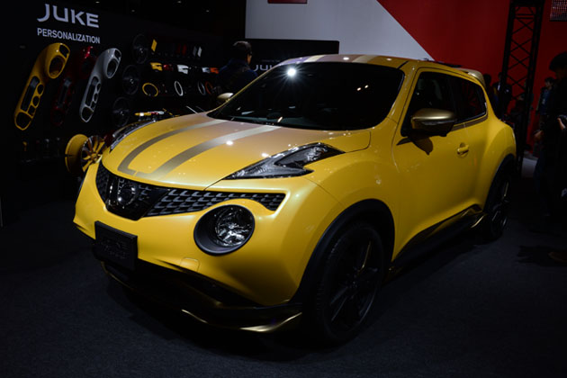 JUKE Personalization Advanced Concept/日産ブース【東京オートサロン2015】