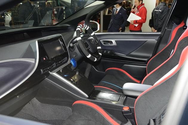 トヨタトヨタ「MIRAI(ミライ)」ラリーカー/トヨタ・Gazoo Racingブース【東京オートサロン2015】