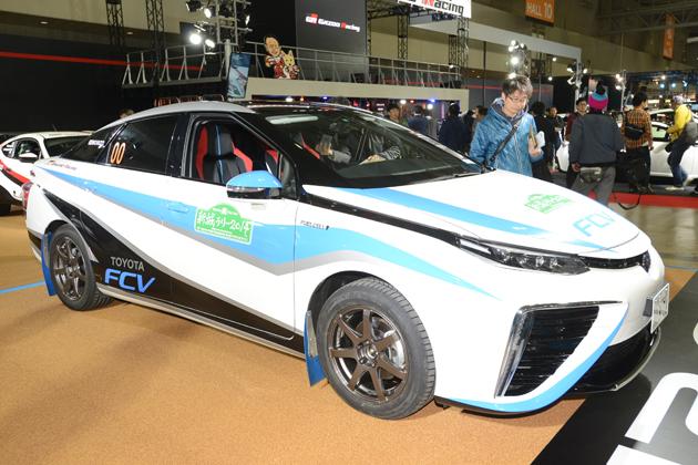トヨタ「MIRAI(ミライ)」ラリーカー/トヨタ・Gazoo Racingブース【東京オートサロン2015】