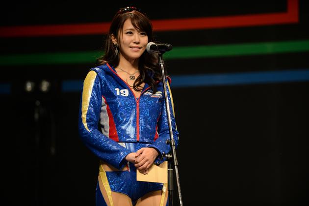 2013年グランプリの佐野真彩さん/日本レースクイーン大賞【東京オートサロン2015】