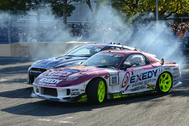 D1GP Kick Off Drift