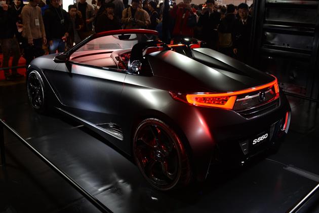Honda S660 CONCEPT【東京オートサロン2015 仕様車】