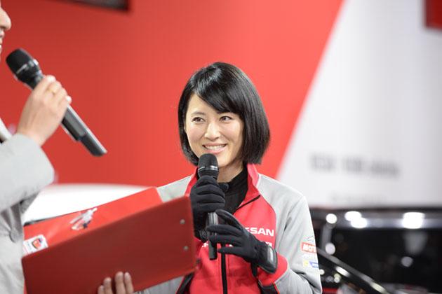 【速報】モノマネ・福田彩乃が『にっちゃんレーシング』で専属レーシングドライバーに!?